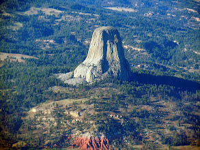 Photo: Devil's Tower again, on the way back
