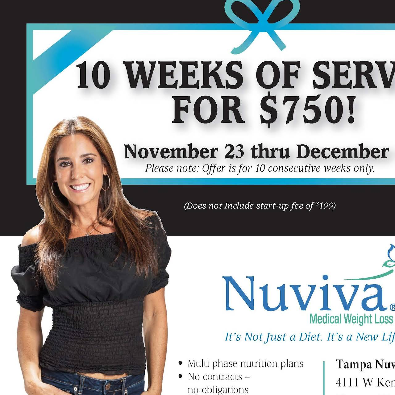 Nuviva Medical Weight Loss Clinic Of Tampa Medical Center In Tampa