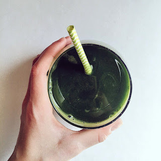 Green With Envy Juice.