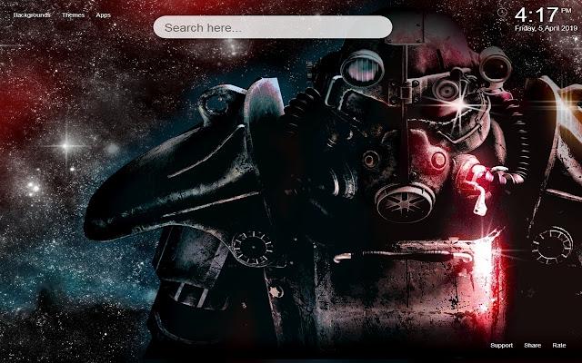 Fallout HD Wallpaper New Tab