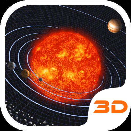 Solar Galaxy 3D Theme