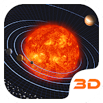 Solar Galaxy 3D Theme Icon