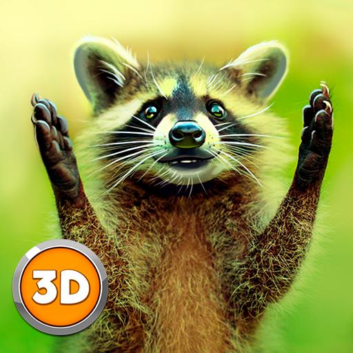 Raccoon Wild Life Simulator 3D