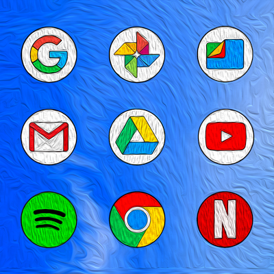PIXEL PAINT - ICON PACK Screenshot Image