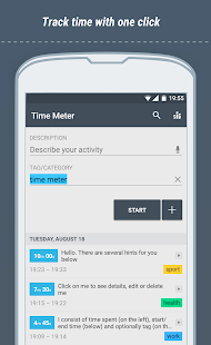 Time Meter Time Tracker - náhled