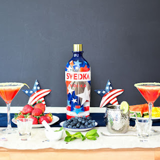 DIY Cocktail Bar (4th of July Cocktail Party Ideas) Recipe