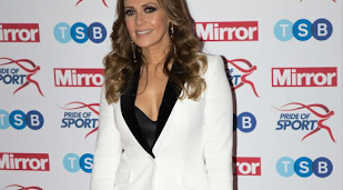 Kym Marsh takes up camping hobby