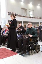 Photo: Obetné dary: baránok a tŕňová koruna.