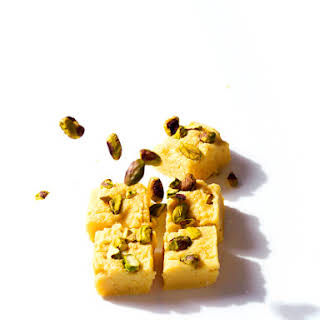 Indian Milk Sweet (kalakand Burfi).
