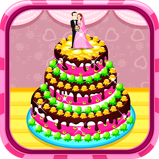 Cooking wedding cake Icon
