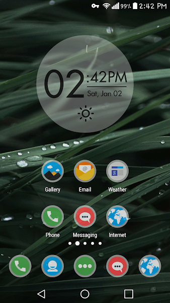 Frosty Icon Pack Theme v6.2.1 [Patched]