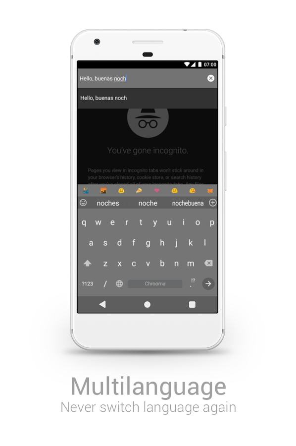 Chrooma GIF Keyboard– captura de ecrã