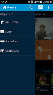 AT&T U-verse- screenshot thumbnail