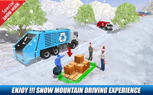 Offroad Garbage Truck: Dump Truck Driving Games apktram screenshots 9