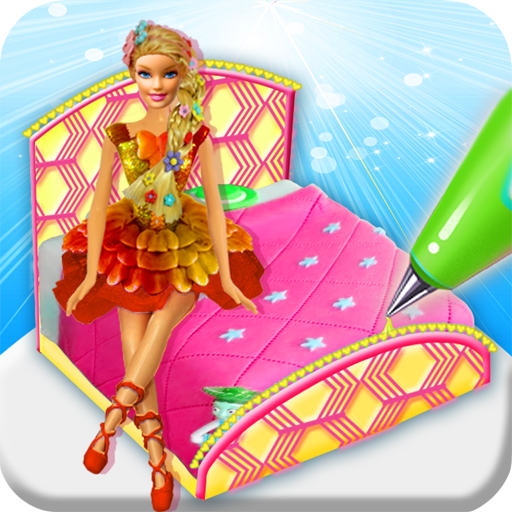 Princess Bed Cake Maker Game! Doll cakes Cooking (game)
