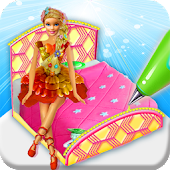 Princess Bed Cake Maker Game! Doll cakes Cooking