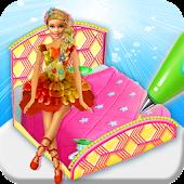 Tải Công chúa Bed Cake Maker Game! Bánh búp bê nấu ăn APK
