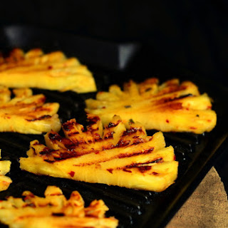 GRILLED PINEAPPLE BITES.