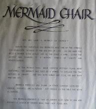Photo: Why a mermaid chair?
