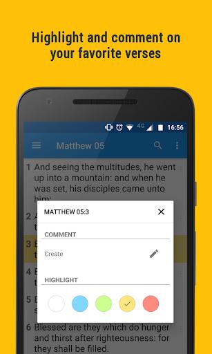 Holy Bible KJV Offline 3.3.2.44 screenshots 2