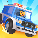 Dinosaur Police Car - Police Chase Games for Kids icon