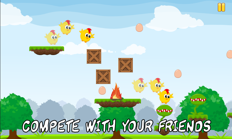Bouncy Chick - screenshot