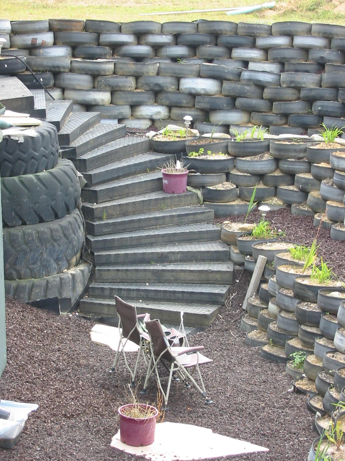 Photo: Rubber Winding Stairway