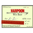 Logo of Harpoon 100 Barrel Series Wit
