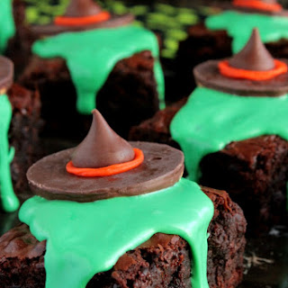 Melting Witch Brownies