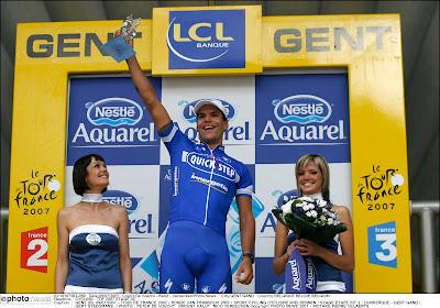 """Etappewinnaar in de Tour verkoopt nu veiligheidsbarrières: """"Ik krijg er nog een beetje kippenvel van"""""""