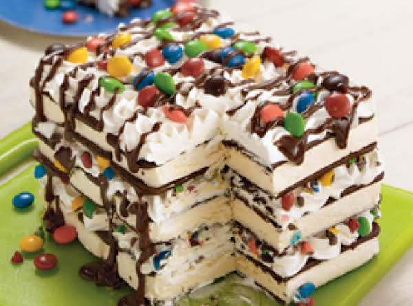 Ice Cream Sandwich Cake Recipe
