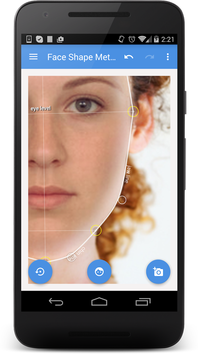 My Face Shape Meter Android 2