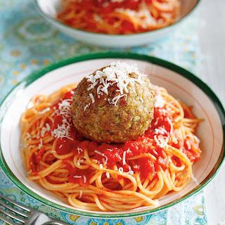 Giant Broccoli Meatballs Recipe