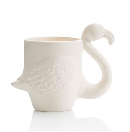 Flamingo Mugg - 6 st