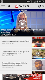 WFXG Fox54 Local News- screenshot thumbnail