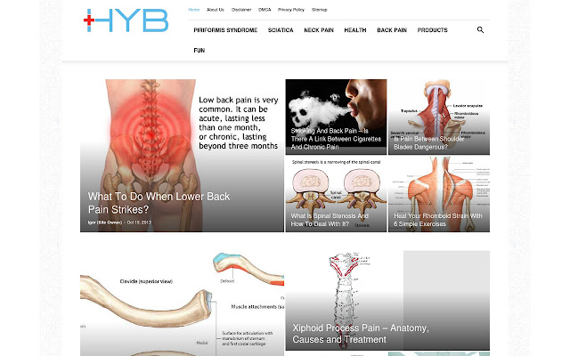 Health and Back Pain