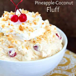 Hawaiian Pineapple Coconut Fluff.