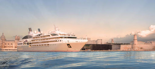 le-soleal-in-venice.jpg - Ponant's Le Soleal cruises into Venice.