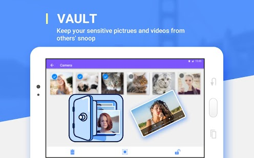 AppLock - Photo Vault, Pattern Lock- screenshot thumbnail