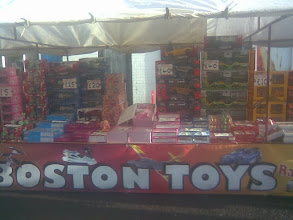Photo: A strong showing from Boston stall holders at the xmas fayre - a 5 minute wait to catch the frontage free from mums & kids looking for xmas toys.