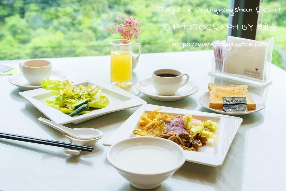 陽明閣早餐-金山溫泉會館