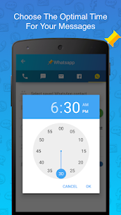 SKEDit Scheduling App: Schedule WhatsApp SMS Calls Screenshot