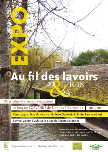 EXPO AU FIL DES LAVOIRS 2019