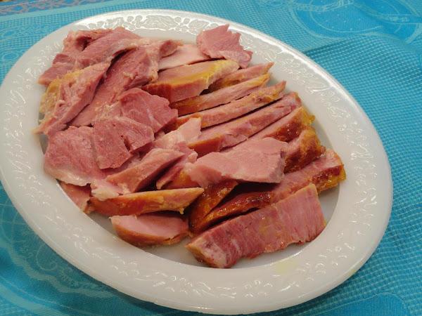 Ginger Ale - Honey Mustard Glazed Ham Recipe