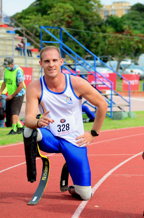 Gauteng's Daniel du Plessis recorded 52.41 in the men's 400m (T62) at the national championships meeting held at the Westbourne Oval in Gqeberha at the weekend