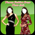 Women Fashion Dress Photo Suit icon