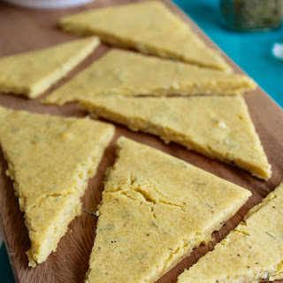 Rosemary Chickpea Flatbread {Vegan, Gluten Free}