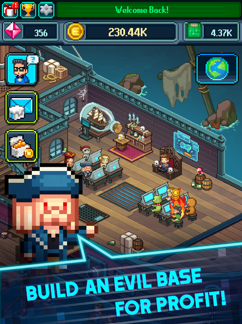 Tap Tap Evil Mastermind - Idle Doomsday Clicker Screenshot 10