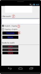 English to Tagalog Translator - náhled
