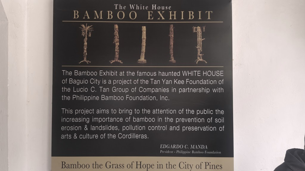LAPERAL WHITE HOUSE BAMBOO EXHIBIT